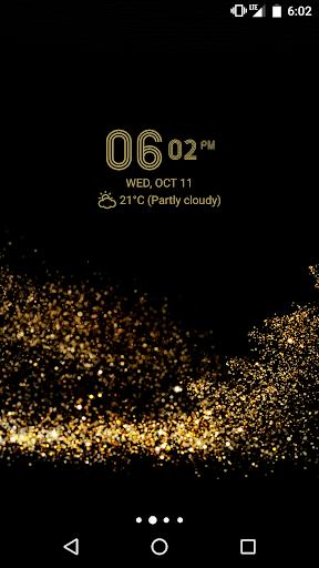 Digital Clock Widget Xperia screenshot 12
