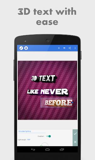 PixelLab - Text on pictures 2 تصوير الشاشة
