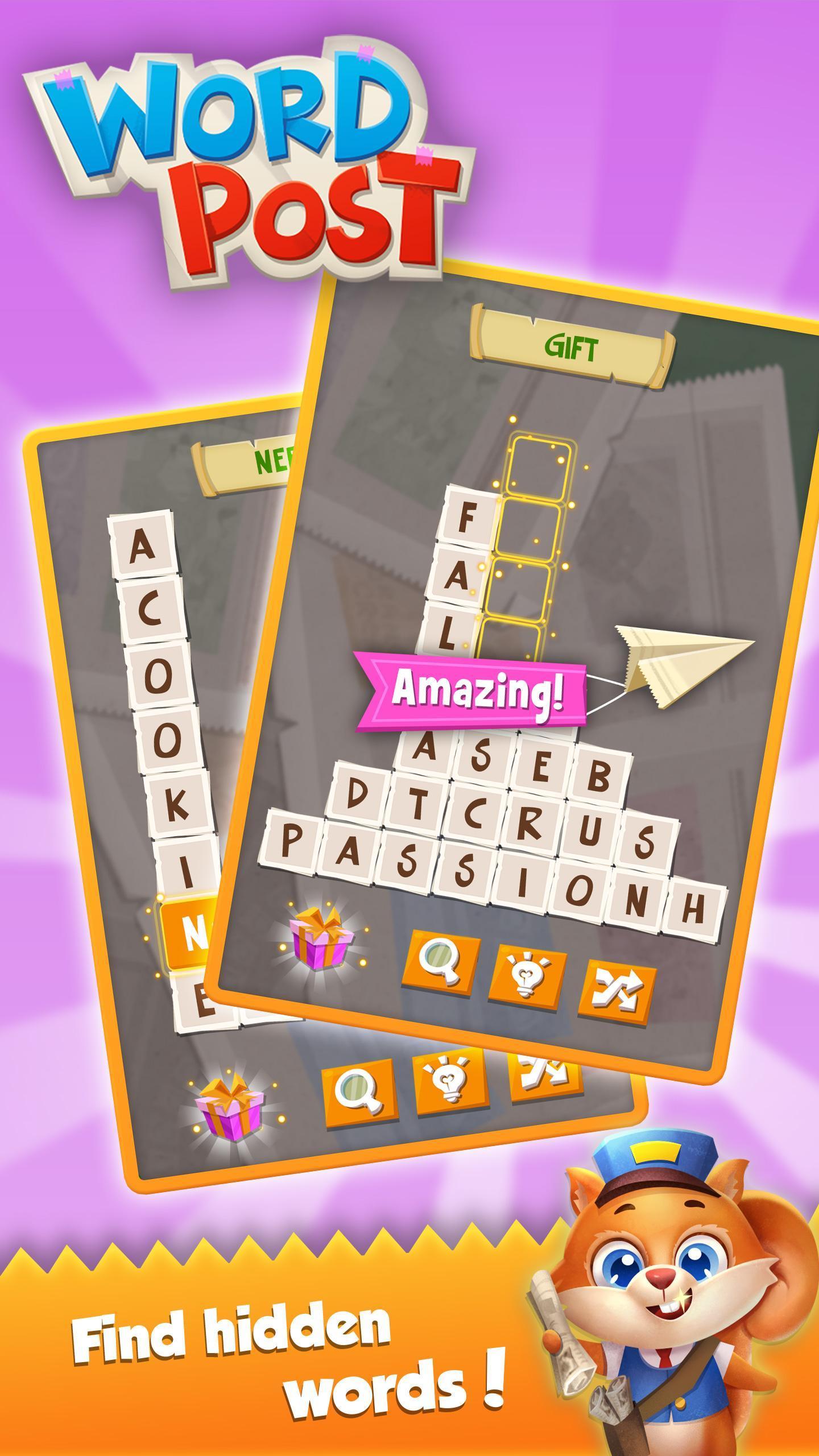 Word Post: Link & Crush Letters in Crossword Games screenshot 7