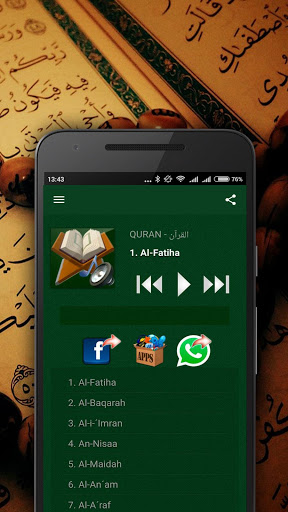 Quran MP3 screenshot 16