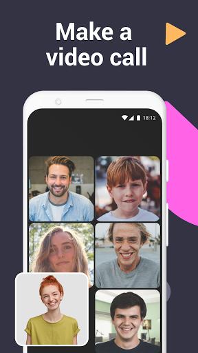 تمتم - تطبيق مراسلة لمكالمات الفيديو والدردشات 2 تصوير الشاشة