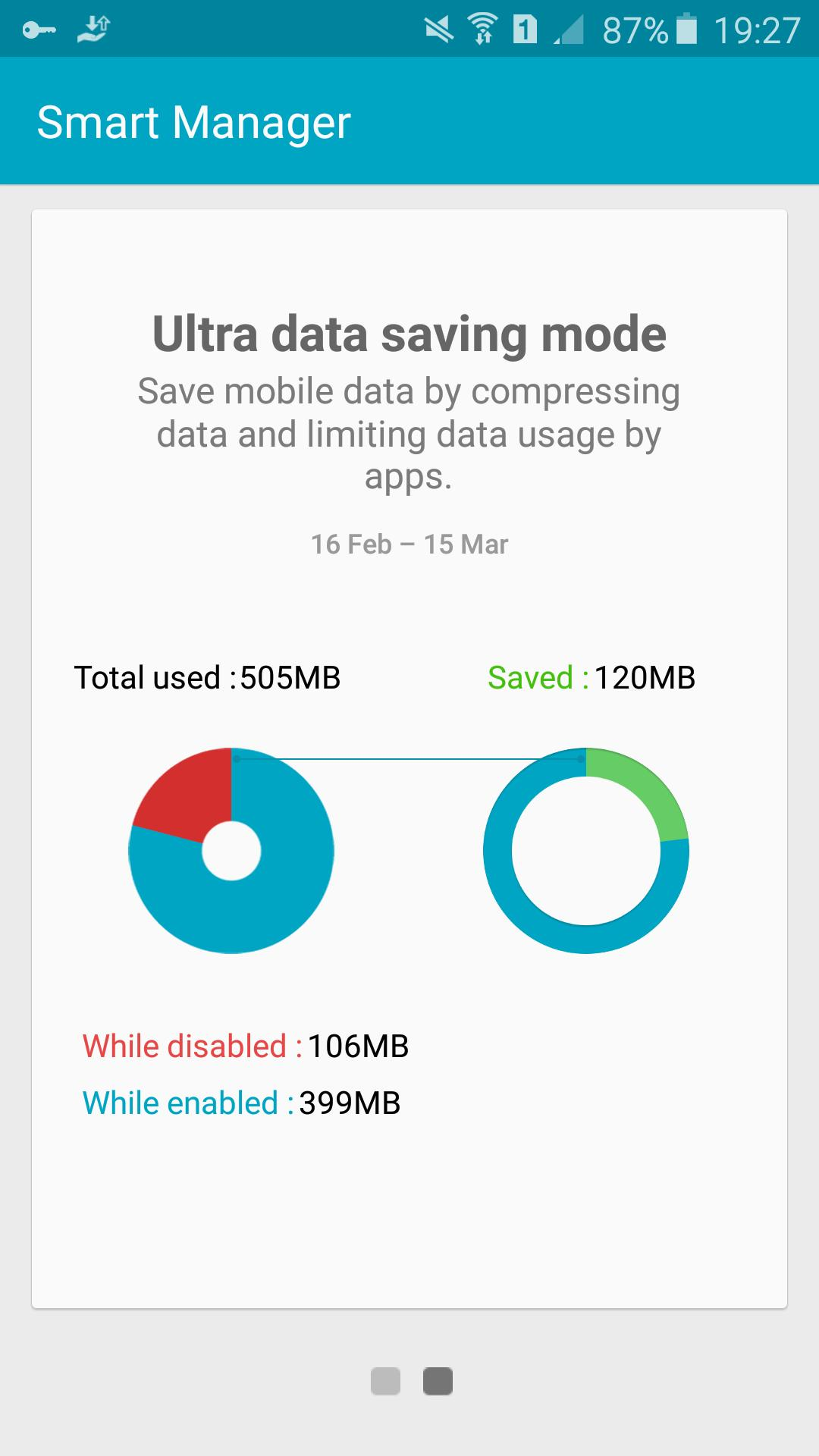 Ultra data saving - Opera Max screenshot 3