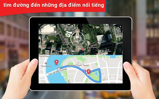 gps vệ tinh sống đất bản đồ & tiếng nói dẫn đường screenshot 3