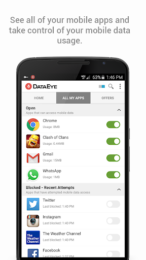 DataEye | Save Mobile Data screenshot 3