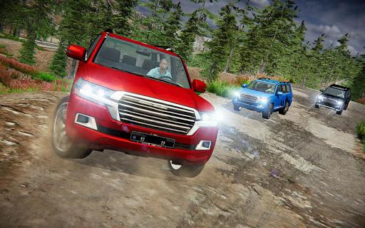 Offroad Prado Car 4X4 Mountain Drift Drive 3D screenshot 1