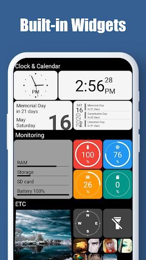 Square Home - Launcher : Windows style 3 تصوير الشاشة