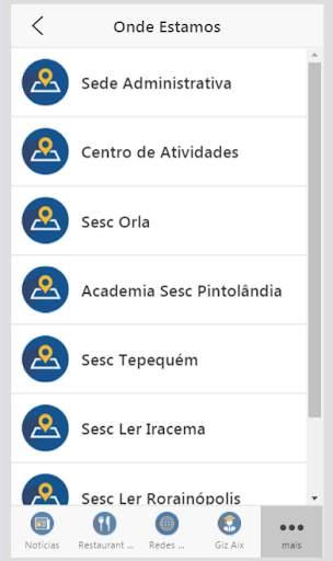 Sesc Roraima скриншот 3