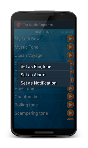 Music Ringtones Galaxy Free screenshot 2