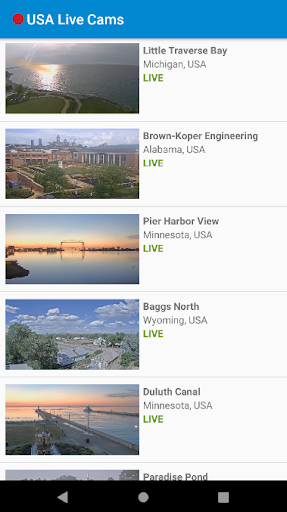USA Live Cams in HD 5 تصوير الشاشة