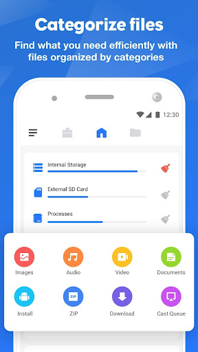 FileMaster: Gerenciar Arquivo, Limpeza Poderosa screenshot 1