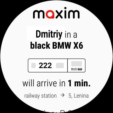 maxim — order taxi, food and groceries delivery screenshot 10
