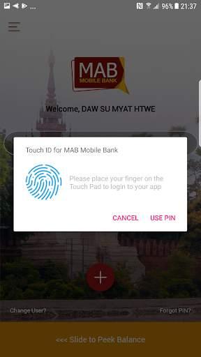 MAB Mobile Banking screenshot 4