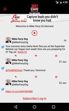 Mike Ferry On Demand screenshot 4