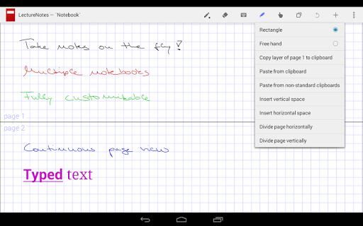 LectureNotes (Trial Version) screenshot 5
