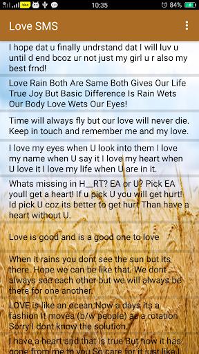 2021 Love SMS Messages screenshot 4
