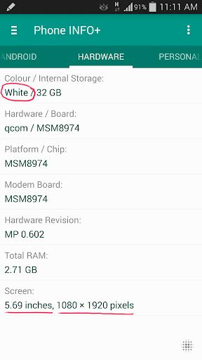 Phone INFO ★SAM★ screenshot 5