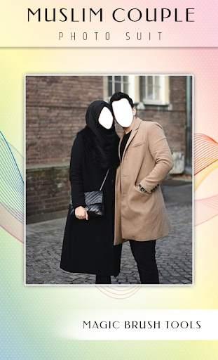 Muslim Couple Photo Suit screenshot 4