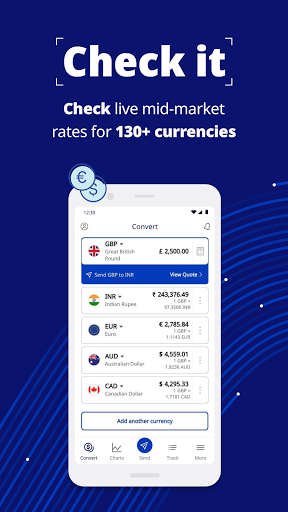 Xe – Currency Converter & Global Money Transfers screenshot 1