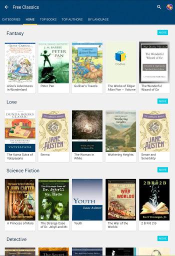 50000 Free eBooks & Free AudioBooks 12 تصوير الشاشة