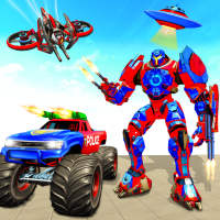 Incredible Monster Robot Super Hero - Police Games on 9Apps