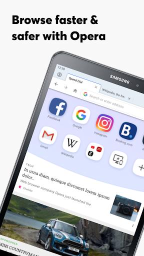 Opera Browser: Fast & Private screenshot 14