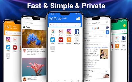 Web-Browser screenshot 1