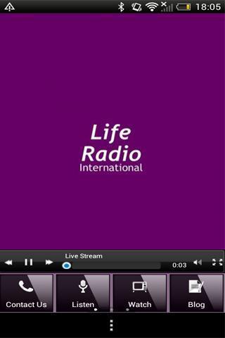 Life Radio International screenshot 1
