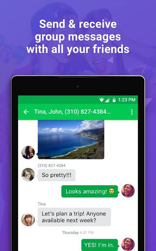 Nextplus Free SMS Text   Calls скриншот 18