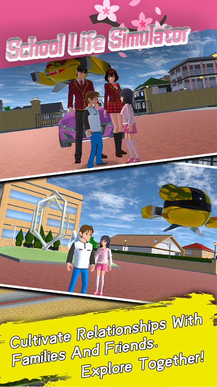 School Life Simulator скриншот 2