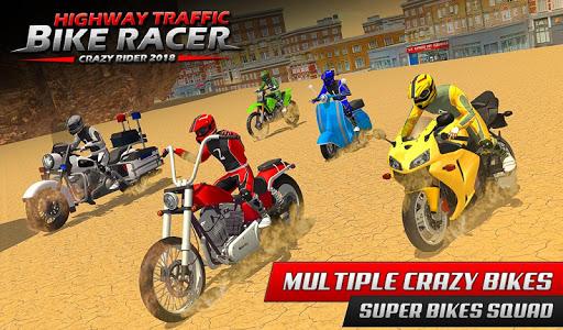 Highway Rider Bike Racing: Crazy Bike Traffic Race screenshot 9
