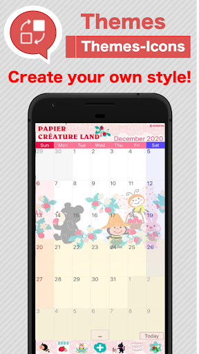 Calendar, Personal Planner & Diary - Jorte screenshot 5