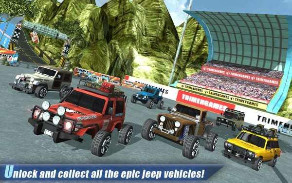 Off Road 4x4 Hill Jeep Driver screenshot 5