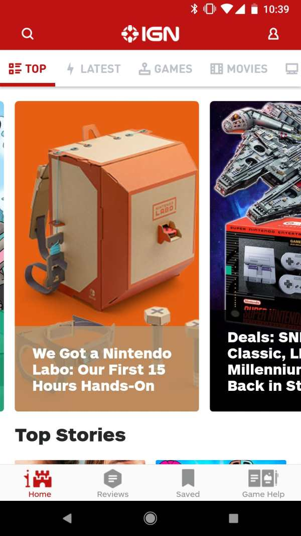 IGN Entertainment - Video Game Guides Reviews News screenshot 1