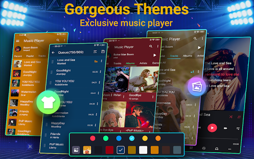 Music Player - 10 Bands Equalizer MP3 Audio Player screenshot 13