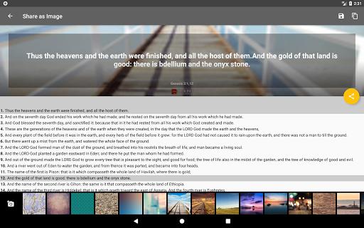 Bible Offline App Free   Audio, KJV, Daily Verse скриншот 18