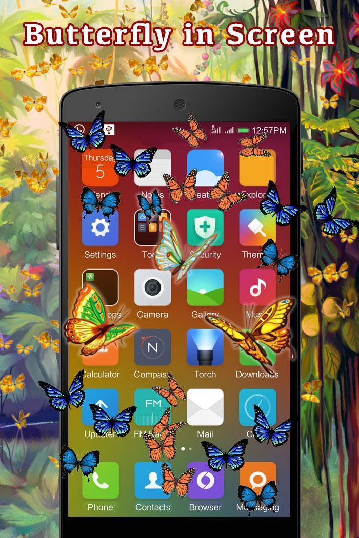 Butterfly in Phone Funny Joke screenshot 1