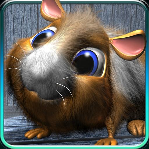 Talking hamster. icon