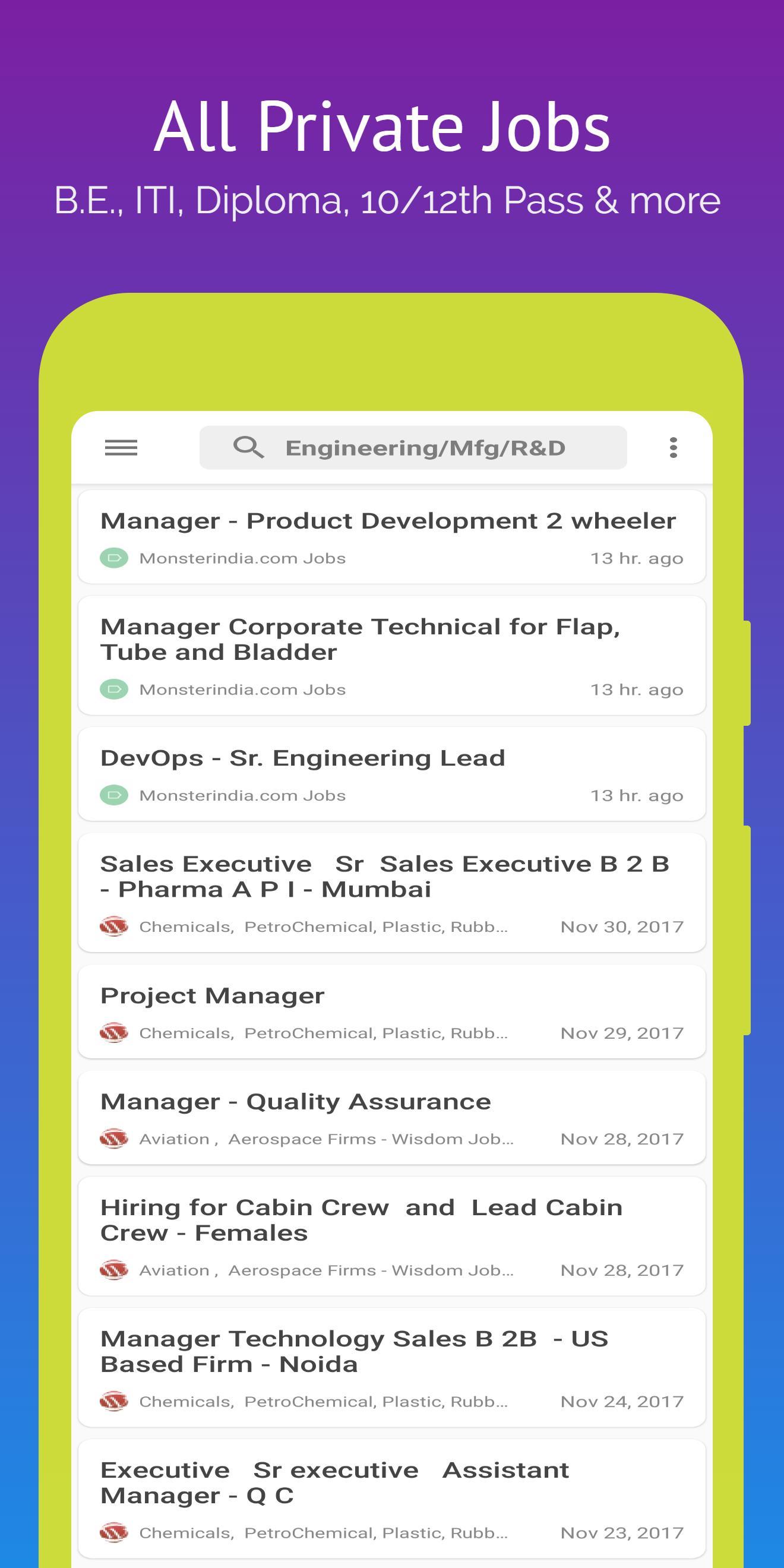Jobs India: All Government Job Updates, Job Alerts screenshot 4