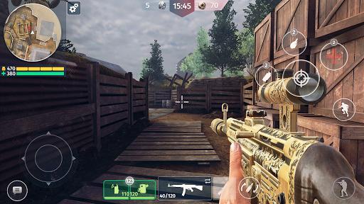World War 2 - Battle Combat (FPS Games) screenshot 2