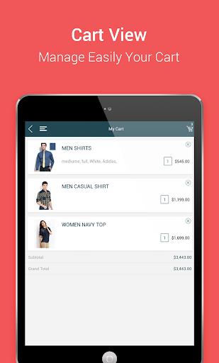 Niftyapp - Magento Mobile App screenshot 15