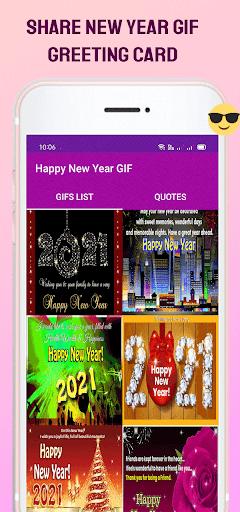 New Year GIF 2021 screenshot 6