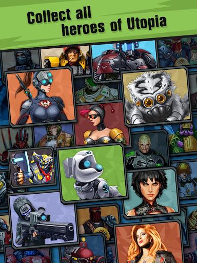 Сlicker idle game: Evolution Heroes स्क्रीनशॉट 4