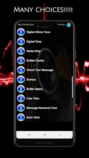 Best Notification Ringtones screenshot 5