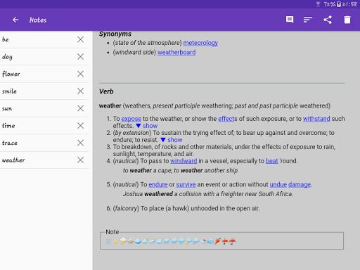 English Dictionary - Offline screenshot 17