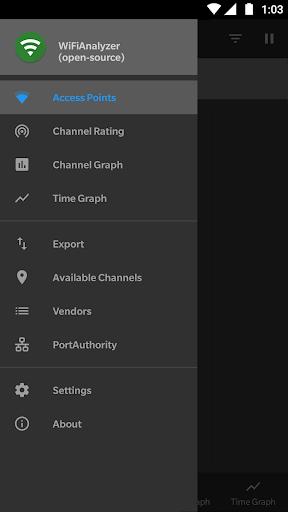 WiFi Analyzer (open-source) screenshot 1