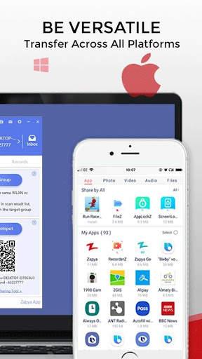 Zapya - File Transfer, Share Apps & Music Playlist screenshot 6