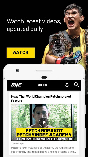 ONE Championship screenshot 5