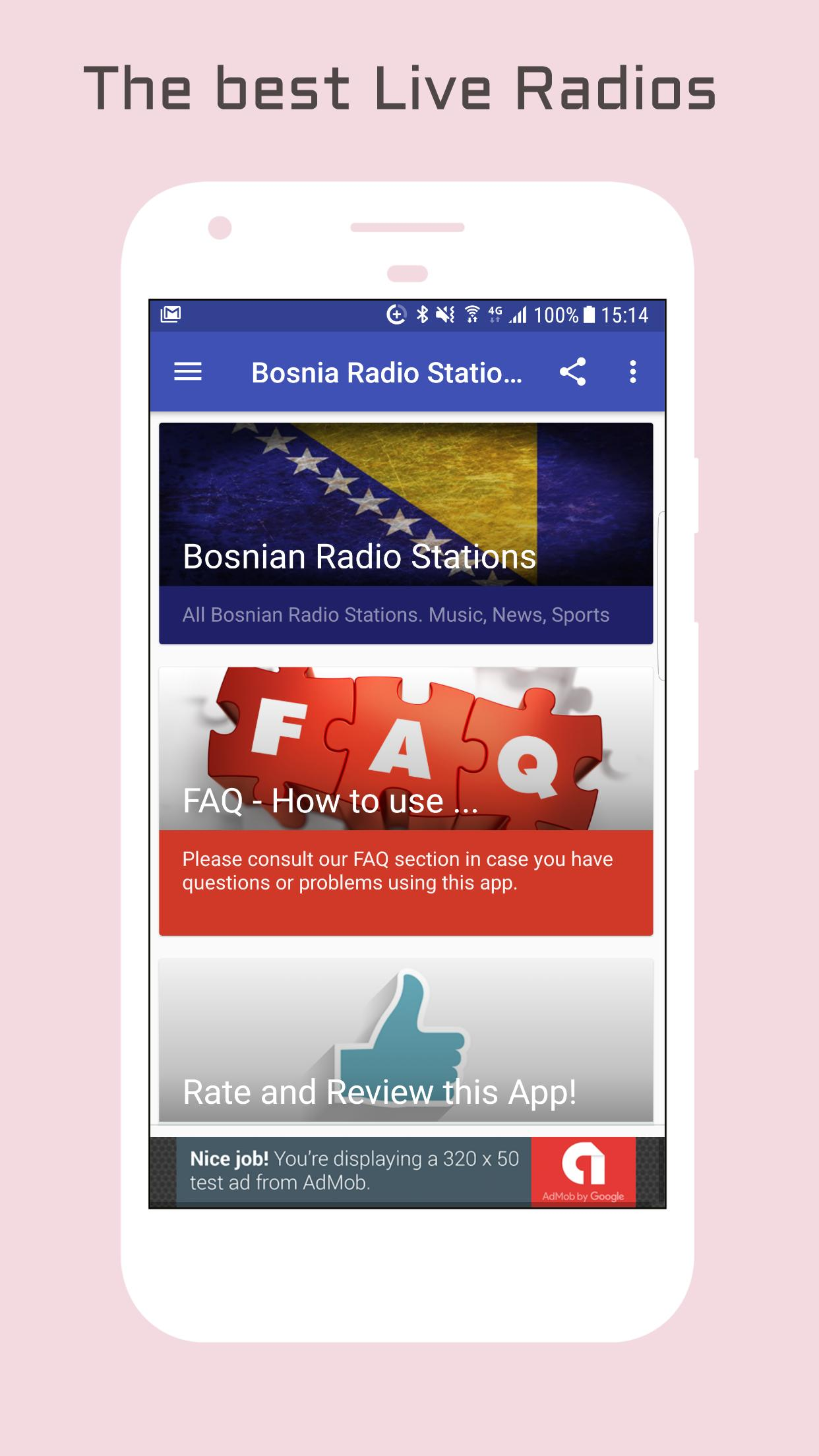 Bosnia Radio Music & News 1 تصوير الشاشة