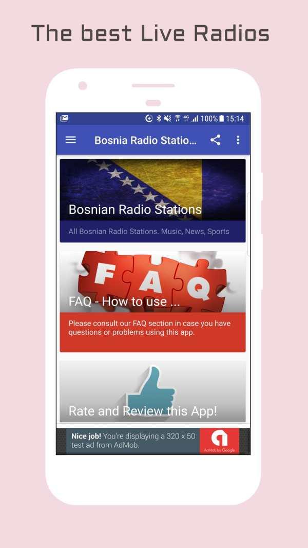 Bosnia Radio Music & News screenshot 1