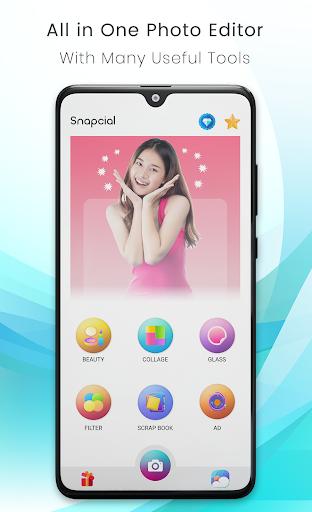 Photo Collage Maker -Picmix- Beauty Selfie Camera screenshot 1